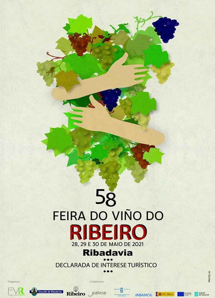 Cartel De La Feria Del Ribeiro 2021