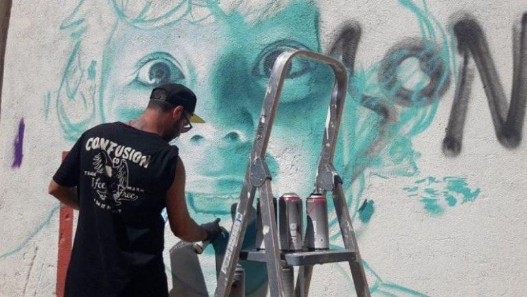 Murales Urbanos de Mon Devane embellecerán Ourense